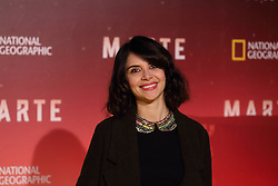 November 8, 2016 - Roma, RM, Italy - Italian actress Claudia Potenza during Red Carpet of the premier of Mars, the largest production ever made by National Geographic  (Credit Image: © Matteo Nardone/Pacific Press via ZUMA Wire)