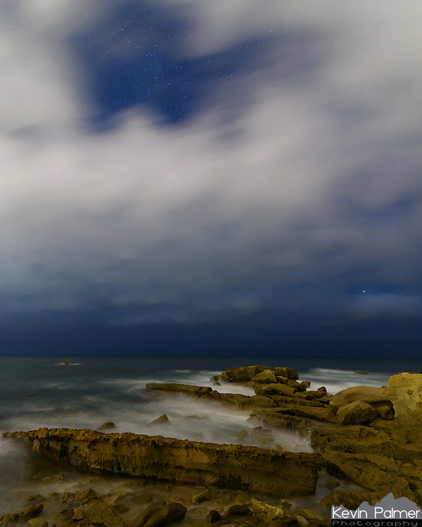 I came to Laguna Beach to photograph the milky way. But the marine layer had other plans and only a few stars were visible in between clouds.