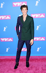 August 21, 2018 - New York City, New York, USA - 8/20/18.Shawn Mendes at the 2018 MTV Video Music Awards held at Radio City Music Hall in New York City..(NYC) (Credit Image: © Starmax/Newscom via ZUMA Press)