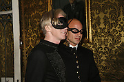 Philip Treacy, The Moet and Chandon Fashion Tribute 2006 Honouring British Photographer Nick Knight. Strawberry Hill House. Twickenham. 24 October 2006. -DO NOT ARCHIVE-© Copyright Photograph by Dafydd Jones 66 Stockwell Park Rd. London SW9 0DA Tel 020 7733 0108 www.dafjones.com