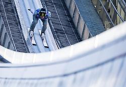 31.12.2017, Olympiaschanze, Garmisch Partenkirchen, GER, FIS Weltcup Ski Sprung, Vierschanzentournee, Garmisch Partenkirchen, Training, im Bild Anze Semenic (SLO) // Anze Semenic of Slovenia during his Practice Jump for the Four Hills Tournament of FIS Ski Jumping World Cup at the Olympiaschanze in Garmisch Partenkirchen, Germany on 2017/12/31. EXPA Pictures © 2017, PhotoCredit: EXPA/ Jakob Gruber