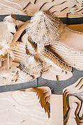 Scale models made of bamboo