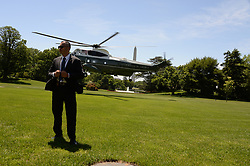May 24, 2019 - Washington DC, USA - 5/24/19-President Donald Trump talks to the press prior to leaving on his trip to Japan. (Credit Image: © Christy Bowe/ZUMA Wire)
