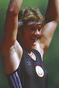 Lucerne, SWITZERLAND. BUL W1X, Magdalena GEOGIEVA.1988 Lucerne International Regatta, Lake Rotsee. June 1988 [Mandatory Credit - Peter Spurrier/Intersport Images] 1988 Lucerne International Regatta
