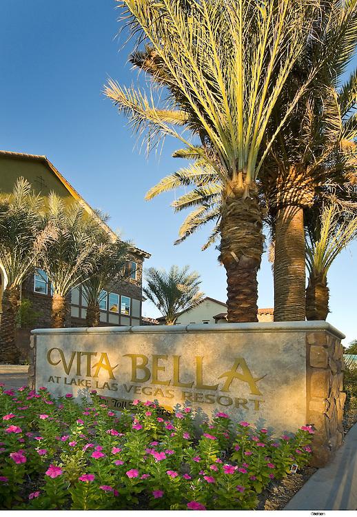 Residential New Homes  Toll Brothers Vita Bella, Lake Las Vegas, Nv
