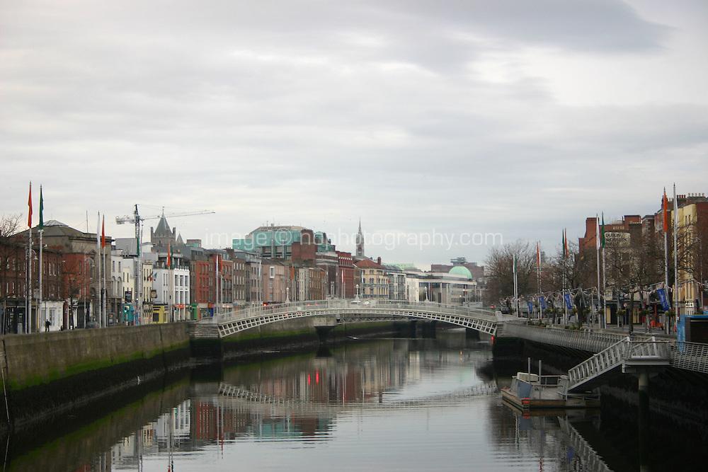 Halpenny Bridge, River Liffey, Dublin City, Ireland