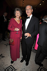 The HON.SIR TIM & LADY SAINSBURY at a dinner to celebrate the opening of 'Maharaja - The Spendour of India's Royal Courts' an exhbition at the V&A, London on 6th October 2009.