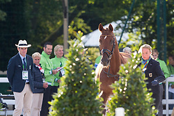 Fabienne Lutkemeier, (GER), D'Agostino FRH - Horse Inspection Dressage - Alltech FEI World Equestrian Games™ 2014 - Normandy, France.<br /> © Hippo Foto Team - Leanjo de Koster<br /> 25/06/14