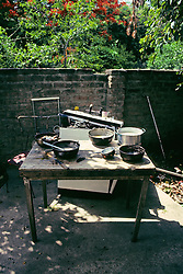 Back Yard Kitchen
