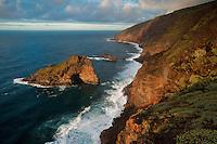 The Punta Gorda coast protected area, in the Northwest of La Palma Island, Canary Islands, Spain.