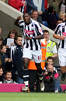 Photo: Mark Stephenson.<br /> West Bromwich Albion v Queens Park Rangers. Coca Cola Championship. 30/09/2007.West Brom's Ishmael Miller celebrates his goal