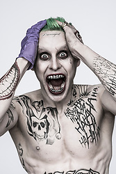 RELEASE DATE: August 5, 2016.TITLE: Suicide Squad.STUDIO: Atlas Entertainment.DIRECTOR: David Ayer.PLOT: A secret government agency recruits imprisoned supervillains to execute dangerous black ops missions in exchange for clemency.PICTURED: JARED LETO as the joker.(Credit: © Atlas Entertainment/Entertainment Pictures)