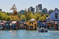 Granville Island Houseboats, False Creek