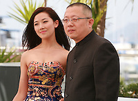Jian RenZi and Chao Wang at the photo call for the film Fantasia at the 67th Cannes Film Festival, Wednesday 21st  May 2014, Cannes, France.