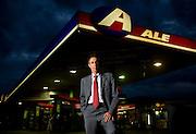 Belo Horizonte_MG, 12 de junho de 2009...Revista Exame...Sergio Cavalieri, presidente do conselho da Ale combustiveis, em posto da empresa...Foto: LEO DRUMOND / NITRO.