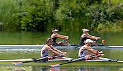 Lucerne. Switzerland,  USA2 Adrienne MARTELLI (b) , Megan KALMOE (s)  Rotsee Lake.  15:21:56  Saturday  13/07/2013  [Mandatory Credit, Peter Spurrier/ Intersport Images]
