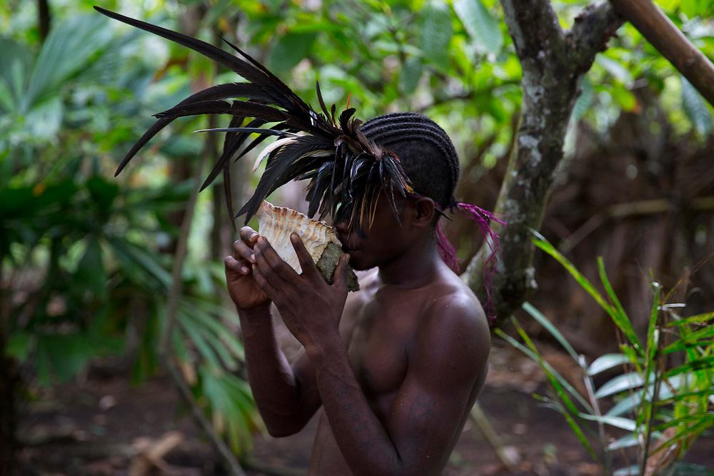 Tradition, Culture and Rituals - Small Nambas Custom Village on Malekula, Vanuatu