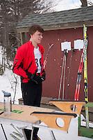 St Paul's School Nordic Relay Race at Proctor Academy in Andover, NH  February 13, 2013.  Karen Bobotas for St Paul's School