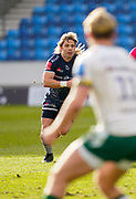 Sale Sharks scrum-half Faf De Klerk during a Gallagher Premiership Round 14 Rugby Union match, Sunday, Mar 21, 2021, in Eccles, United Kingdom. (Steve Flynn/Image of Sport)