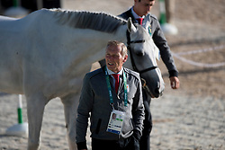 Demeersman Dirk, BEL<br /> Horse Inspection<br /> Olympic Games Rio 2016<br /> © Hippo Foto - Dirk Caremans<br /> 12/08/16