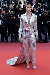 May 16, 2019 - Cannes, France - 72nd Cannes Film Festival 2019, Red Carpet film : Rocket Man.Pictured: Sara Sampaio (Credit Image: © Alberto Terenghi/IPA via ZUMA Press)