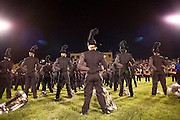 The Oregon Marching Band compete at Summerfest in Oregon, Wisconsin on June 28, 2009.