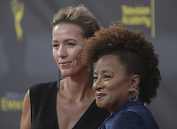 September 14, 2019, Los Angeles, California, United States of America: Wanda Sykes (R) and Alex Sykes at the red carpet of the 2019 Creative Arts Emmy Awards on Saturday September 14, 2019 at the Microsoft Theater in Los Angeles, California. JAVIER ROJAS/PI (Credit Image: © Prensa Internacional via ZUMA Wire)