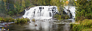 64797-00804 Bond Falls in fall, Ontonagon County, MI