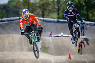 #148 (VAN GENDT Twan) NED during practice of Round 3 at the 2018 UCI BMX Superscross World Cup in Papendal, The Netherlands