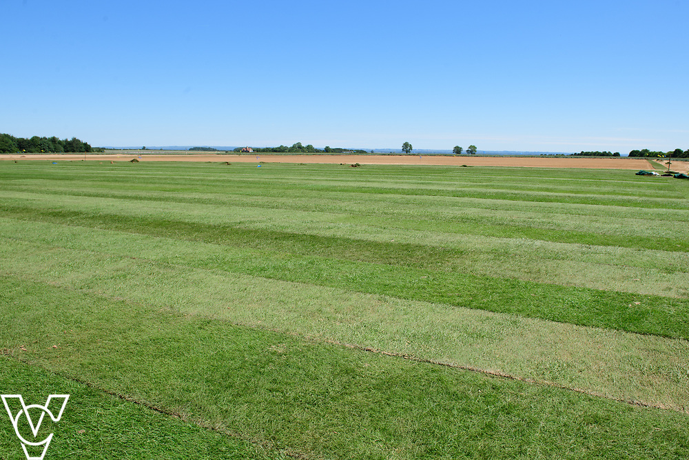 Work has been progressing on Lincoln City's new training ground in Scampton, near Lincoln.<br /> <br /> Picture: Chris Vaughan Photography for Lincoln City<br /> Date: June 22, 2018