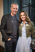 NO FEE PICTURES<br /> 12/4/18 Peter Devlin and Lorraine Keane at the launch of Jenny Huston and Leah Hewson's jewellery and fine art collaboration, Edge Only x Leah Hewson at The Dean Dublin. Arthur Carron