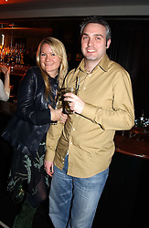 GEORGINA BLAKEY and CLEM SALMINS at a night of Cuban Cocktails and Cabaret hosted by Edward Taylor and Charles Beamish at Floridita, 100 Wardour Street, London W1 on 14th April 2005.<br /><br />NON EXCLUSIVE - WORLD RIGHTS