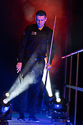 Mark Selby prepares to enter the Arena ahead of the first session of the World Snooker 19.com Scottish Open Final Mark Selby vs Jack Lisowski at the Emirates Arena, Glasgow, Scotland on 15 December 2019.