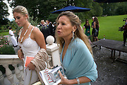 LETIZIO VANNI; BARBARA DE JONGE, Christie's Gala. Casa Austria.  Amadeus Weekend. Salzburg. 22 August 2008.  *** Local Caption *** -DO NOT ARCHIVE-© Copyright Photograph by Dafydd Jones. 248 Clapham Rd. London SW9 0PZ. Tel 0207 820 0771. www.dafjones.com.