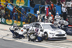 May 6, 2018 - Dover, Delaware, United States of America - Brad Keselowski (2) comes down pit road for service during the AAA 400 Drive for Autism at Dover International Speedway in Dover, Delaware. (Credit Image: © Justin R. Noe Asp Inc/ASP via ZUMA Wire)