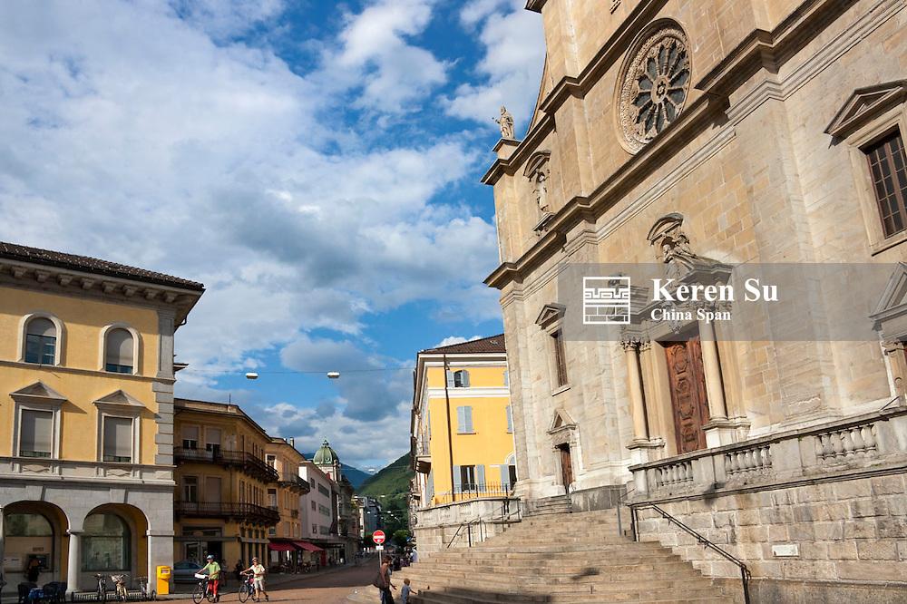 Collegiata dei Ss. Pietro e Stefano Church, Bellinzona, Switzerland