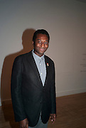 KODWO ESHUN;, Private view for the Turner prize exhibition. Tate Britain. London. 4 October 2010. -DO NOT ARCHIVE-© Copyright Photograph by Dafydd Jones. 248 Clapham Rd. London SW9 0PZ. Tel 0207 820 0771. www.dafjones.com.