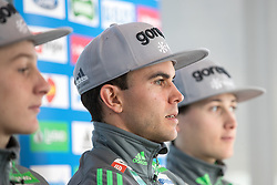 Jernej Damjan  and Cene Prevc during ski jumping training in Nordic Center Planica before Four Hills Tournament, on December 21, 2016 in Nordic, Center Planica, Planica, Slovenia. Photo by Matic Klansek Velej / Sportida