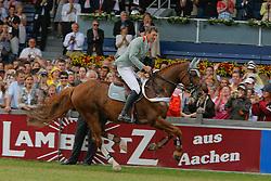 Beerbaum Ludger (GER) - Goldfever<br /> Afscheid van Goldfever<br /> CHIO Aachen 2009<br /> Photo © Hippo Foto