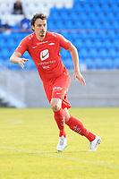 Fotball , 17. juni 2020 , Eliteserien,<br />Haugesund - Brann Bergen<br />Vegard Valgermo Forren fra Brann Bergen i aksjon mot Haugesund.<br />Foto: Andrew Halseid Budd , Digitalsport