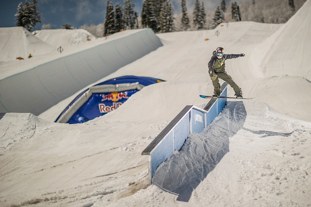 Nik Baden performs at the RedBull Performance Camp in Aspen Colorado, United States on April 14th, 2013