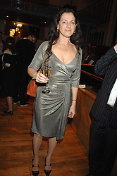 TAMASIN DAY-LEWIS at the Orion Authors Party held at the Royal Opera House, Covent Garden, London on 11th February 2008.<br /><br />NON EXCLUSIVE - WORLD RIGHTS