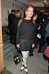 COUNTESS ALEXANDRA TOLSTOY-MILOSLAVSKY at a party hosted by Ewan Venters CEO of Fortnum & Mason to celebrate the launch of The Cook Book by Tom Parker Bowles held at Fortnum & Mason, 181 Piccadilly, London on 18th October 2016.