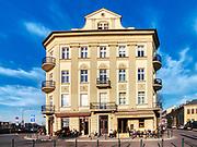 """Budynek w którym mieści się kultowy klub """"Drukarnia"""" w Podgórzu, Kraków, Polska<br /> The cult club """"Drukarnia"""" in Podgórze, Cracow, Poland"""