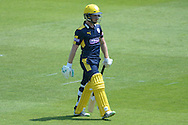 Hampshire wicketkeeper-batsman Adam Wheater  during the Royal London One Day Cup match between Hampshire County Cricket Club and Essex County Cricket Club at the Ageas Bowl, Southampton, United Kingdom on 5 June 2016. Photo by David Vokes.