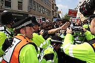 Brighton Mayday protest