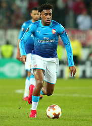 Alex Iwobi of Arsenal - Mandatory by-line: Robbie Stephenson/JMP - 23/11/2017 - FOOTBALL - RheinEnergieSTADION - Cologne,  - Cologne v Arsenal - UEFA Europa League Group H