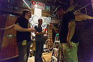 10-10-12: Baltimore, MD: The Brew Day for the first ever collaboration between DuClaw Brewing and Oliver Breweries.
