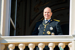 Prince Albert II of Monaco, Princess Charlene of Monaco with their twin children Prince Jacques and Princess Gabriella and Princess Alexandra of Hanover, Caroline, Princess of Hanover, Pierre Casiraghi, Andrea Casiraghi, Pauline Ducruet, Louis Ducruet and Princess Stéphanie of Monaco during the Army Parade, as part of the official celebrations marking the principality's National Day at the Monaco Palace, in Monaco. 19 Nov 2018 Pictured: Prince Albert II of Monaco, Princess Charlene of Monaco with their twin children Prince Jacques and Princess Gabriella and Princess Alexandra of Hanover, Caroline, Princess of Hanover, Pierre Casiraghi, Andrea Casiraghi, Pauline Ducruet, Louis Ducruet and Princess Stéphanie of Monaco. Photo credit: MEGA TheMegaAgency.com +1 888 505 6342