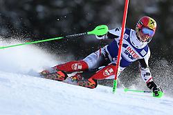 06.01.2014, Stelvio, Bormio, ITA, FIS Weltcup Ski Alpin, Bormio, Slalom, Herren, im Bild Marcel Hirscher // Marcel Hirscher  in action during mens Slalom of the Bormio FIS Ski World Cup at the Stelvio in Bormio, Italy on 2014/01/06. EXPA Pictures © 2014, PhotoCredit: EXPA/ Sammy Minkoff<br /> <br /> *****ATTENTION - OUT of GER*****